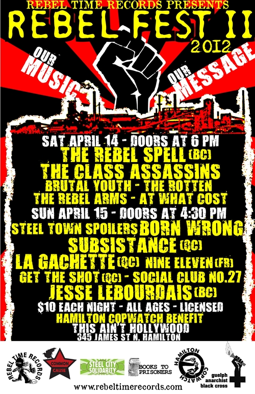 Rebel Fest This Ain't Hollywood
